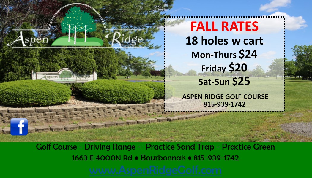 Fall Rates Special