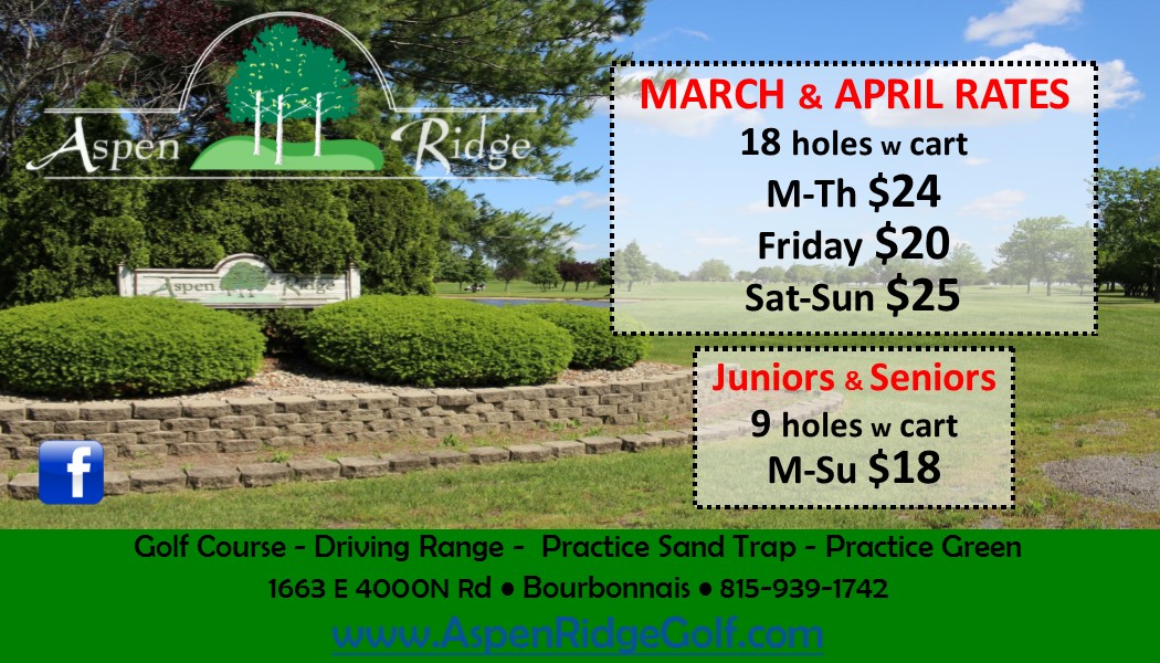 Early Spring Specials