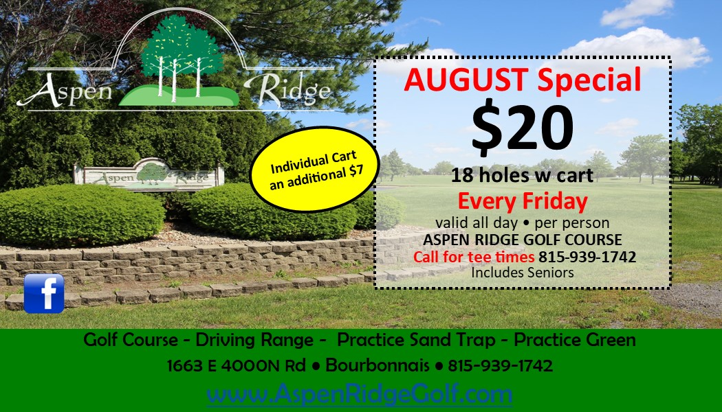 August Fridays Special